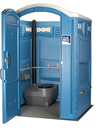ADA Compliant Portable Toilet